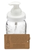 Mason Jar Foaming Soap Dispenser - White - With 16 Ounce Ball Mason Jar - mj-foaming-white-pint-1pk